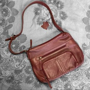 NWT Red leather bag